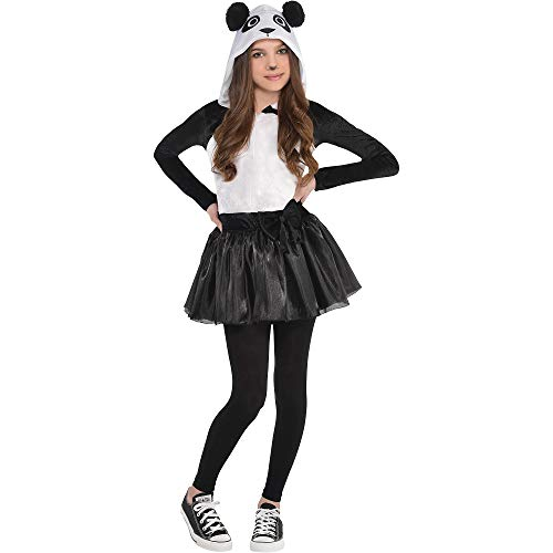 AMSCAN Panda Halloween Costume for Girls, Medium,