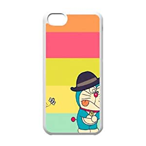 Doraemon iPhone 5c Cell Phone Case White JU0998794