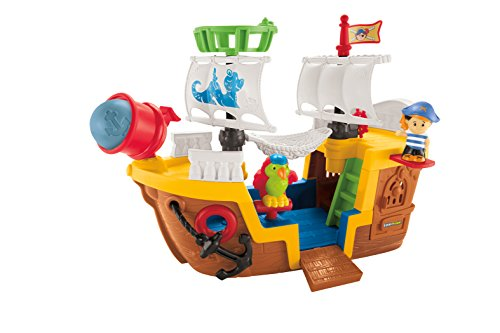 Fisher-Price Little People Lil' Pirate (Girls Pirate Ship)