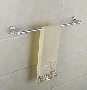Accesorios de Baño, Toalla de baño o cocina Bar titular de Rack de almacenamiento de montaje en pared,organizar ...