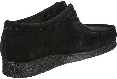 Clarks Wallabee Black Suede WALLABEEBLACK, Stivali
