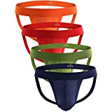 Tyhengta Men's Athletic Supporter Briefs Performance Jockstrap Underwear