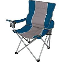 Amazon.com: Ozark Trail Folding Chair with Built-In Cup Holder, Blue