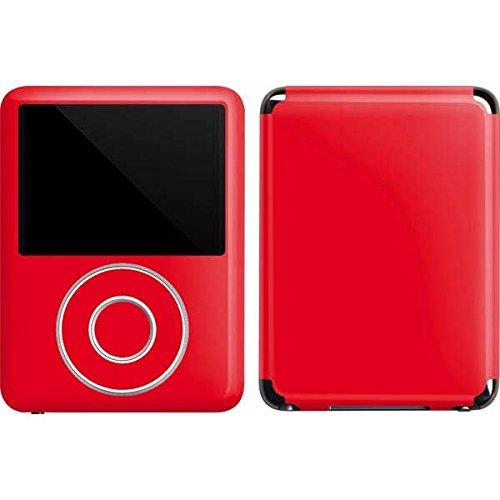 Solids iPod Nano (3rd Gen) 4GB&8GB Skin - Red Vinyl Decal Skin For Your iPod Nano (3rd Gen) 4GB&8GB
