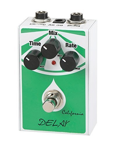 California Delay Guitar Effect Pedal