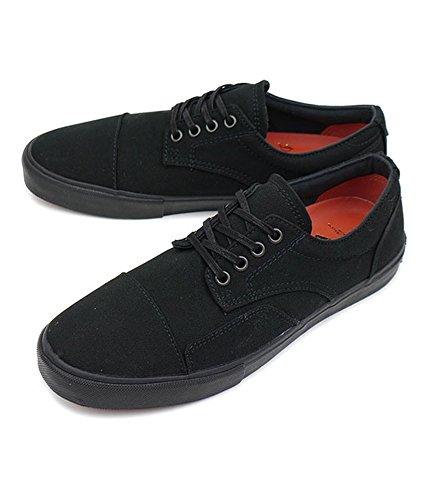 Vans Mens Zero Lo Canvas O Skate Sneakers Blackblackbrick JG836vp