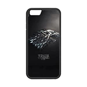 game of thrones winter is coming stark iPhone 6s 4.7 Inch Cell Phone Case Black Present pp001-9525682