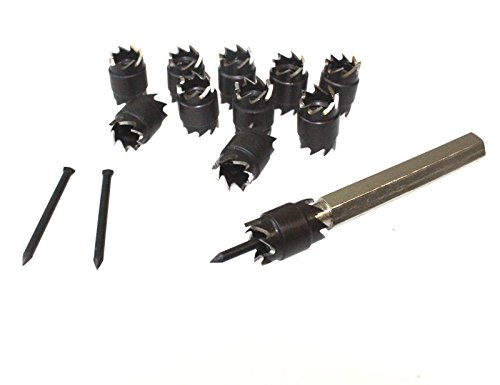 Rotary Spot Weld Double Cutter Sided Remover Drill Bits Cut Welds Complete Kit For Separate Spot-Welded Panels Without Distorting With Metal Storage Case - (Most Complete Spot)