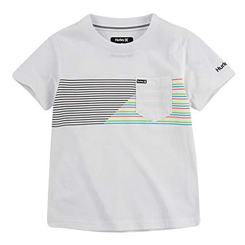 Hurley Little Boys' Ombre Stripe T-Shirt