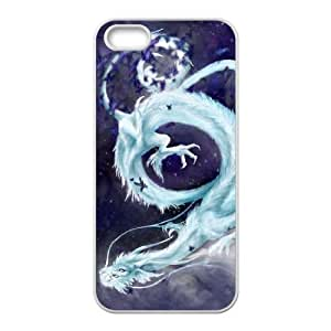Ancient Dragon iPhone5s Cell Phone Case White DIY Ornaments xxy002-3672648