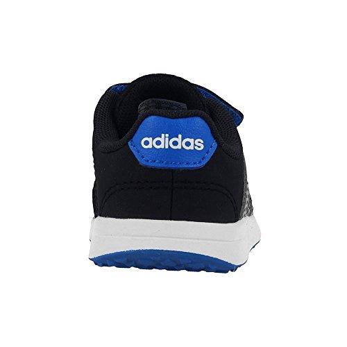 adidas Unisex Baby Vs Switch 2 CMF Inf Gymnastikschuhe Schwarz (Core Black/grey Two F17/bright Blue)