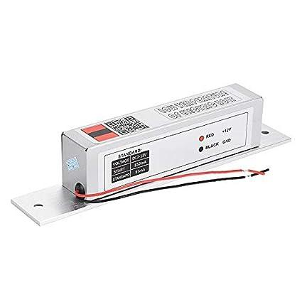 Cerradura de cerradura de mortaja eléctrica Cerradura de cerrojo de baja temperatura Modo NC para control
