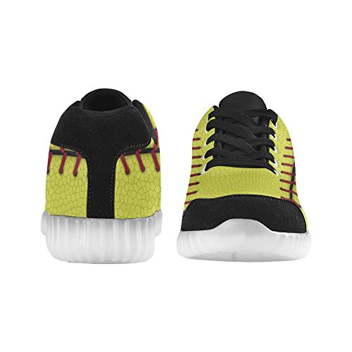 D-Story Winged Eye Fashion Sneakers Light Up Womens Shoes Multicoloured39 3LFJutTyy