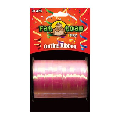 CURLING RIBBON IRIDESCENT PINK 20YDS #34289, CASE OF 144 by DollarItemDirect