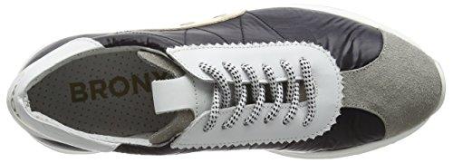 Colores Grey Mehrfarbig 1565 BronxBrodaX Black L Varios White Zapatillas Mujer xHwCv
