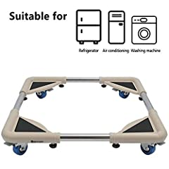 THE SPACECARE STFD001 Telescopic Furniture Dolly can save your back and make moving easier with this telescopic furniture dolly! Easily adjust the sturdy stainless steel bars to fit larger furniture. The rubber swivel wheels make movin...