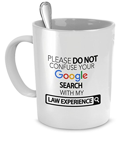 Law Mug Confuse Experience Accessories product image