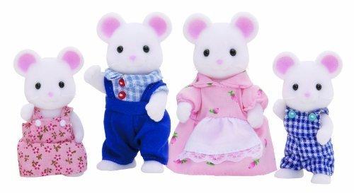Sylvanian Families Families - White Mouse Mouse Family - 4121 4121 - New by Sylvanian Families [並行輸入品] B00RKU8ENI, ライフスタイルショップ FUNFUN:3846fe0c --- itxassou.fr