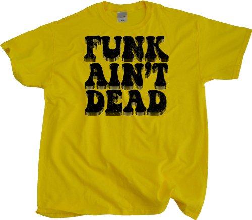 JTshirt.com-19882-Ann Arbor T-Shirt Co. Men\'s Funk Ain\'t Dead T-Shirt-B00DV8YWA2-T Shirt Design
