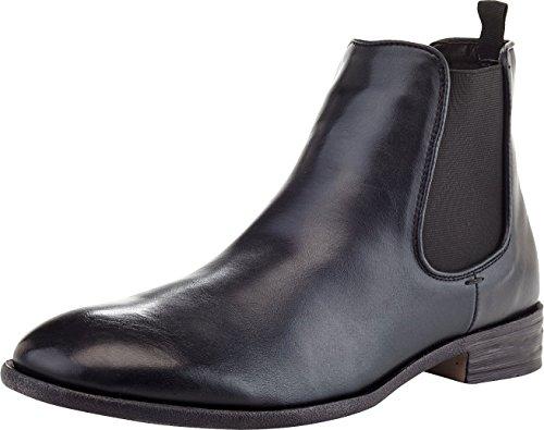 'Marco Vitale Men's Ankle Chelsea Boots, Black, 9.5 D(M) US'