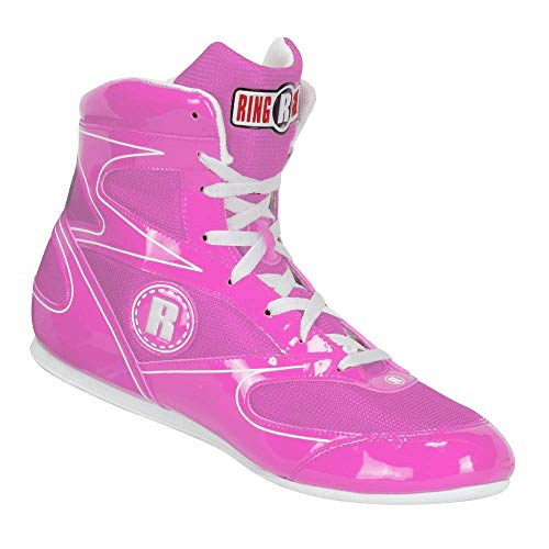 Ringside Diablo Boxing Shoes, Pink, 8