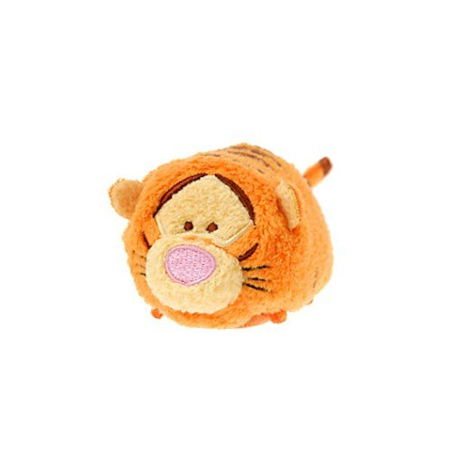 [Disney Tigger ''Tsum Tsum'' Plush - Mini - 3 1/2''] (Tigger Tail)