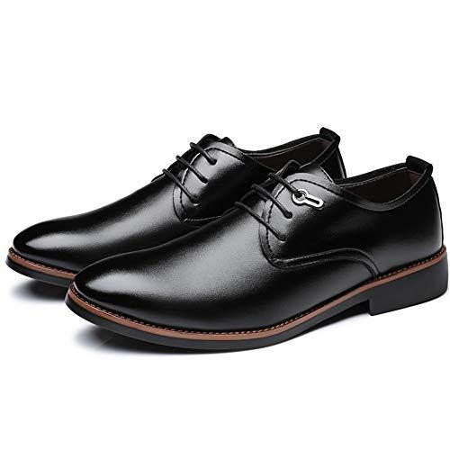 shoes Chaussures Jujianfu De Homme Lacets Ville À Noir Pour 64wnwq7x