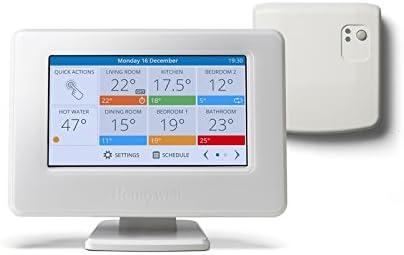 Honeywell ATP921R3100 Evohome - Termostato con conexión WiFi, Blanco
