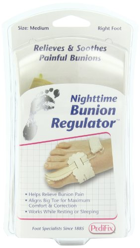 - PediFix Nighttime Bunion Regulator,  Right Foot, Medium