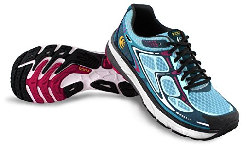 (Topo Athletic Magnifly Running Shoe - Women's Blue/Ice 6.5)