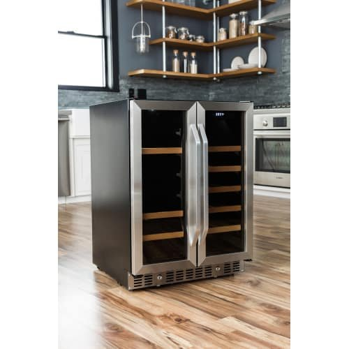 EdgeStar CWB1760FD 24 Inch Built-In Wine and Beverage Cooler with French Doors by EdgeStar (Image #7)