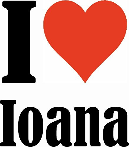 "Handyhülle iPhone 4 / 4S ""I Love Ioana"" Hardcase Schutzhülle Handycover Smart Cover für Apple iPhone … in Weiß … Schlank und schön, das ist unser HardCase. Das Case wird mit einem Klick auf deinem Sma"