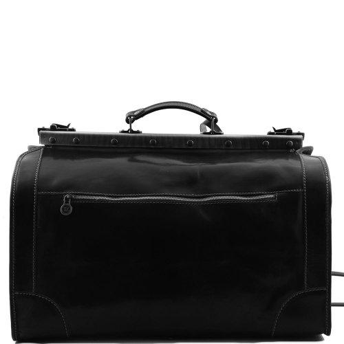 Tuscany Leather, Borsa a spalla uomo Nero nero