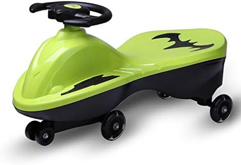 乗っ玩具、無限の楽しみのための年齢3歳とアップ、ノーバッテリー、ギア、またはペダル、ツイスト、ターン、ウィグル
