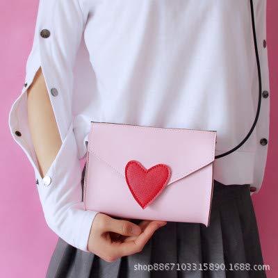 Aime vers carrés rosa la Chic Petits Sacoche Seule Sac Mode de Sac Fille ZHANGJIA épaule Mini 5R8xwFFT