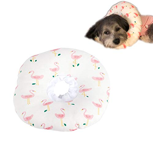 MY-PETS Protective Pet Recovery Collar for Cat and Small Dogs Soft E-Collar Surgery Protector Suit Cone of Shame for…