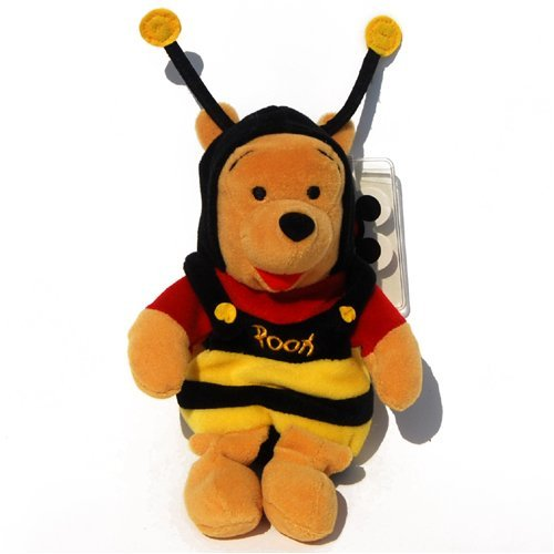 Disney Winnie the Pooh Mini Bean Bag Plush Bumble Bee Pooh 8 inch