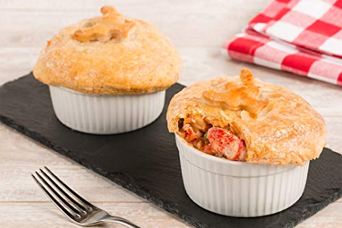 Lobster Pie Recipe - Maine Lobster Now - Four 9oz Lobster Pot Pies