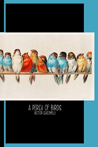 A Perch of Birds (1880) by Hector Giacomelli (1822-1904) : College Ruled Notebook: Gallery and Museum Art