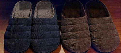 Bottom Zapatillas Non Home amp;XY Winter 40 de interior de W de Zapatillas Suave antideslizante invierno Warm Men Slip casa PF5xdwqa7