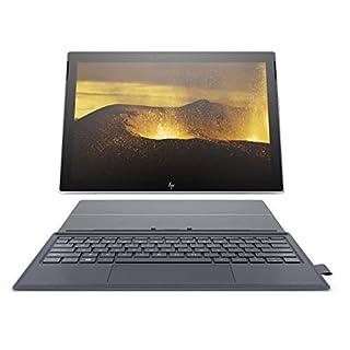 HP Envy x2 12-inch Detachable Laptop with 4G LTE, Qualcomm Snapdragon 835 Processor, 4 GB RAM, 128 GB Flash Storage, Windows 10 (12-e091ms, Silver, Blue) (Renewed)