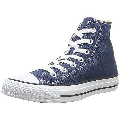 blue converse high tops mens