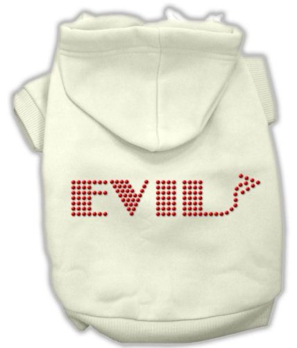 Mirage Pet Products 20-Inch Evil Hoodies, 3X-Large, Cream