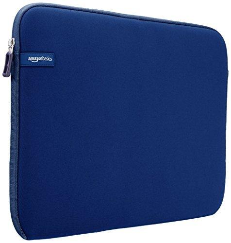 AmazonBasics 15 to 15.6-Inch Laptop Sleeve - Navy