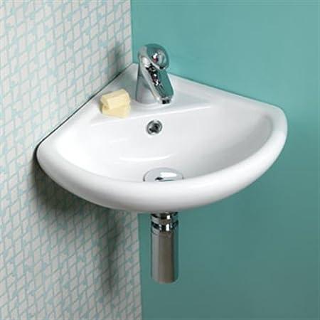 Aerial Small Sink Corner Basin 31x31cm 310x310mm Amazoncouk Diy