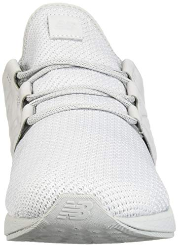 New Balance Men's Cruz V2 Fresh Foam Running Shoe, arctic fox/white/nubuck, 7 D US by New Balance (Image #4)