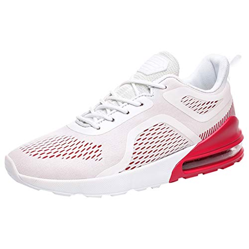 (iHPH7 Running Shoes Men,Water Shoes for Men,Tennis Shoes for Men,Shoe Organizer,Wrestling Shoes,Running Shoes,High Heels,Loafers,Sneakers for Men (42,White))