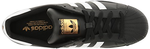 White 3 Superstar Leather Footwear Adidas Foundation Core Black Eu 37 Trainers 2 Mens qwYPBO