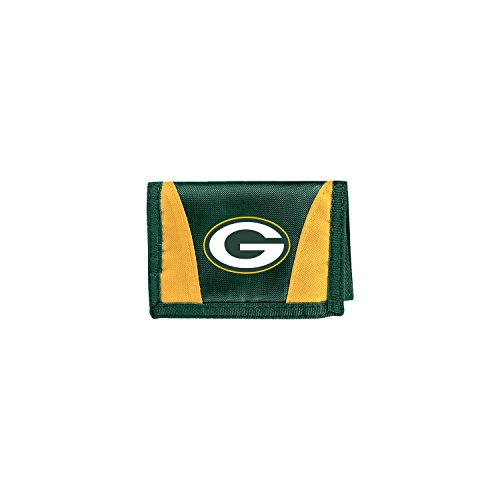 The Northwest Company Officially Licensed NFL Green Bay Packers Unisex Chamber Wallet, 4.5