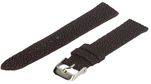 Leather Watch Strap, Genuine Stingray, Brown, 22 mm, Long - Stingray Brown